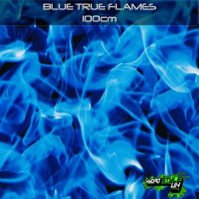 blue flames hydrographics film