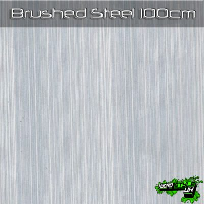 Brushed Steel Hydrographics Film