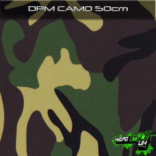 Camo Hydrographics Designs