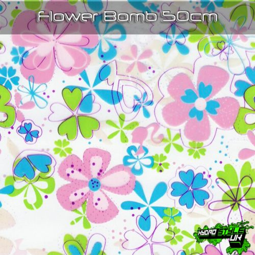 Floral Hydrographics Designs