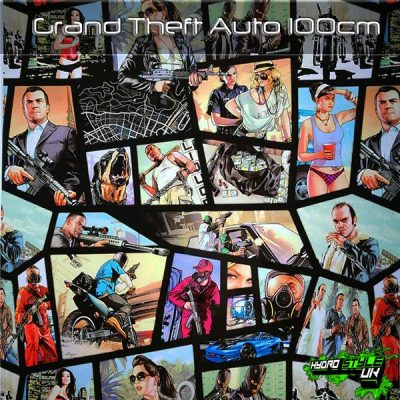 Grand Theft Auto Hydrographics Film