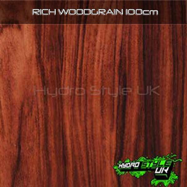 wood hydrographics film