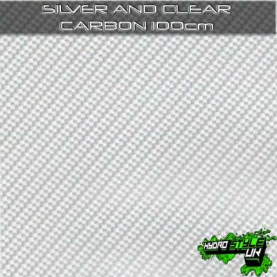 Silver Carbon Hydrographics Film