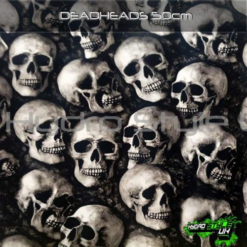 Skull Hydrographics Designs