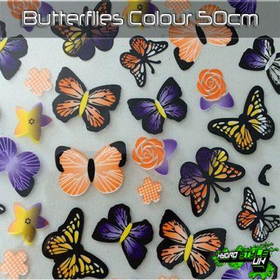 Butterflies Colour Hydrographics Film