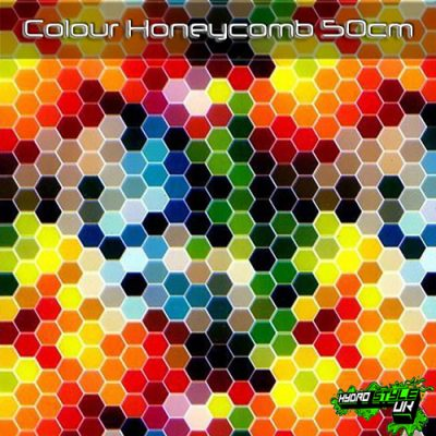 Colour Honeycomb Hydrographics Film
