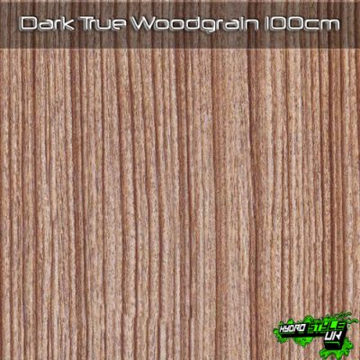 Dark True Woodgrain Hydrographics Film