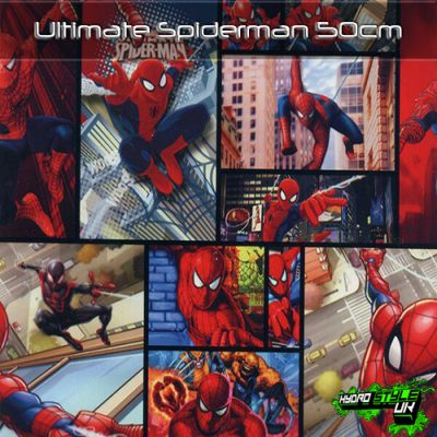 Ultimate Spiderman Hydrographics UK