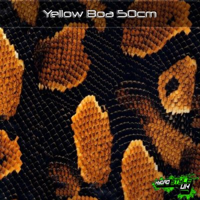 Yellow Boa Hydrographics Film
