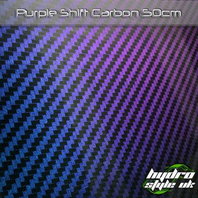 purple shift carbon hydrographics film