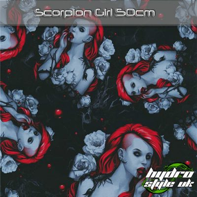 scorpion hydrographics film