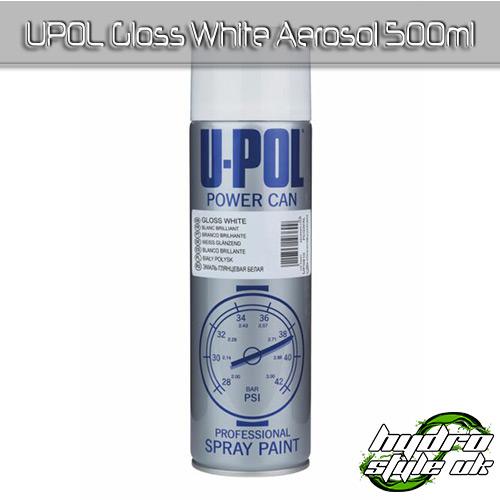 upol gloss white aerosol