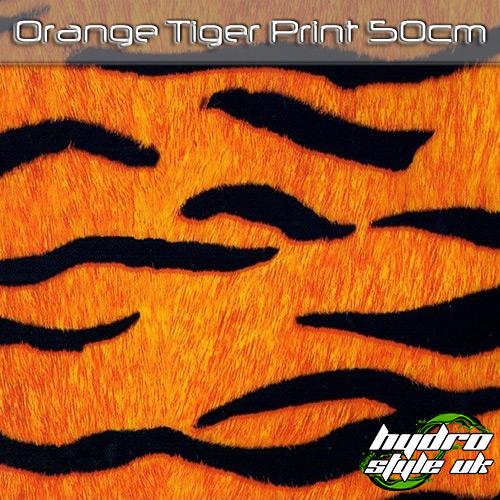 Orange Tiger Hydrographics FIlm UK
