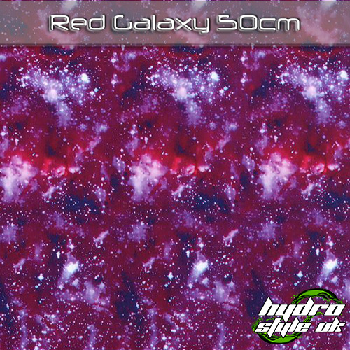 Red Galaxy Hydrographics Film UK