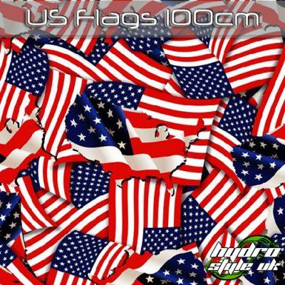 US Flags Hydrographics Film UK