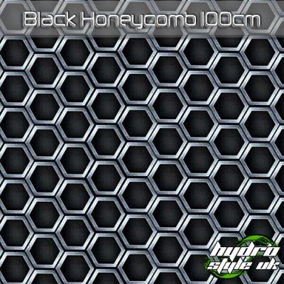 black honeycomb hydrographics film