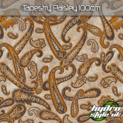 Tapestry Paisley Hydrographics Film UK