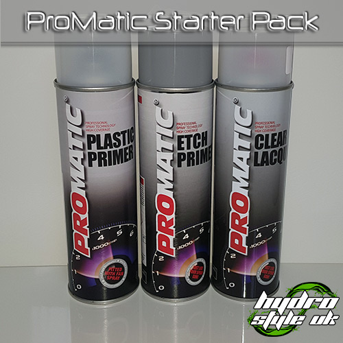 Promatic Starter Pack Hydrographics UK