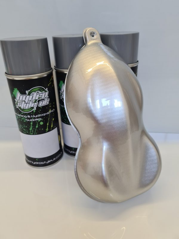 Silver Hydrographics paint uk