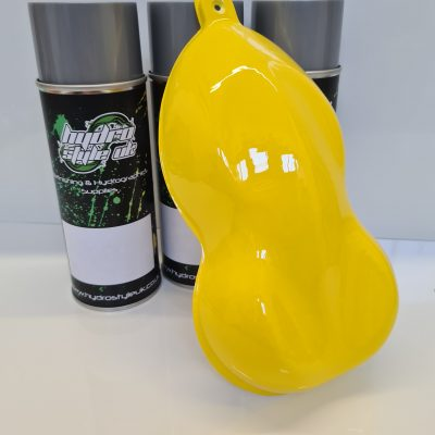 Yellow hydrographics paint uk