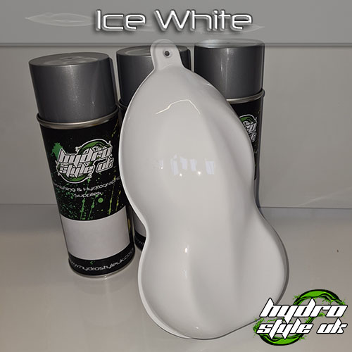 Ice White Hydrographics Paint UK