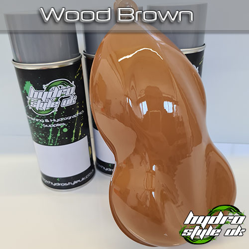 Wood Brown Hydrographics Paint UK