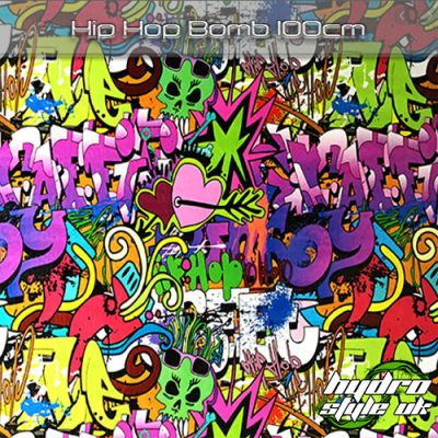 Hip Hop Bomb Hydrographics Film