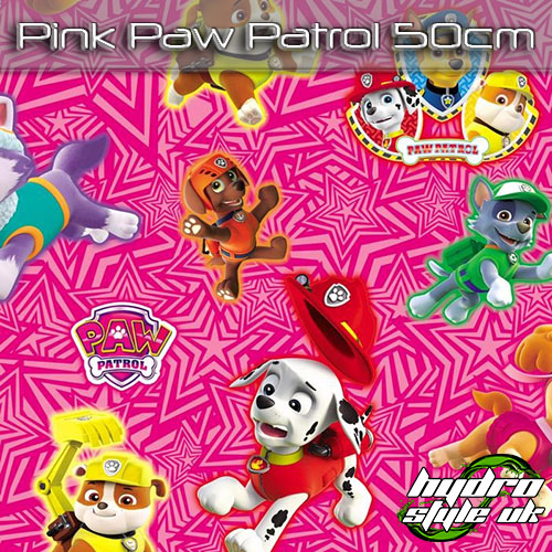 Pink Paw Patrol Hydrodipping Film UK