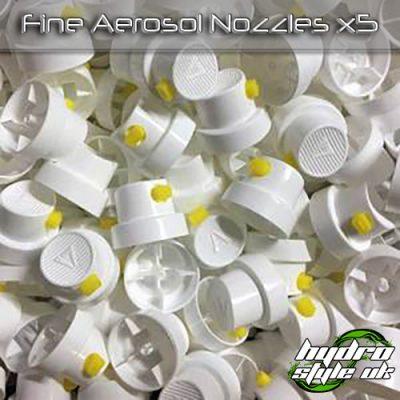 fine aerosol nozzles