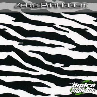 zebra print hydrographics film