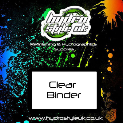 clear binder hydrographics