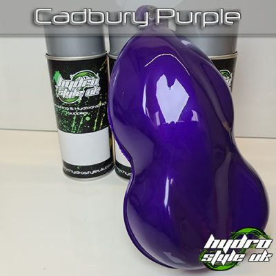 cadbury purple hydrographics paint uk