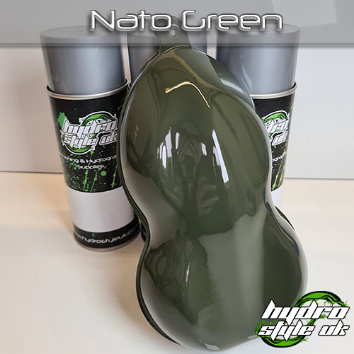 Nato Green Hydrographics Paint