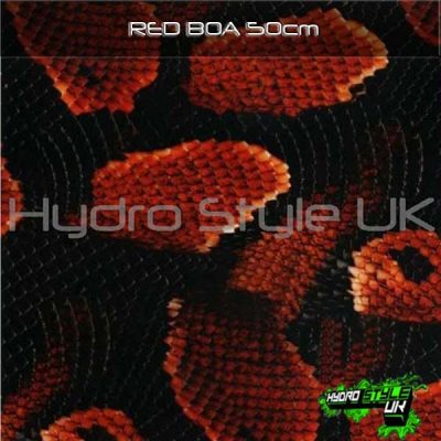 Red Boa Hydrodipping Film