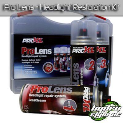 prolens headlight restoration kit