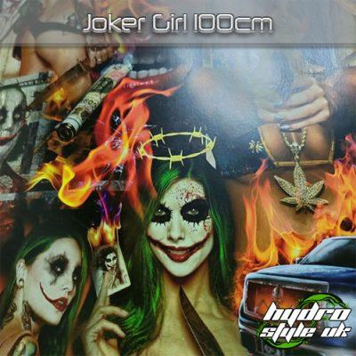 Joker Girl Hydrographics Film