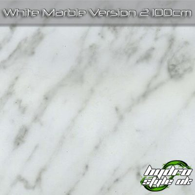 White Marble Version 2 Hydrodipping Film