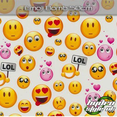 Emoji Bomb Hydrodipping Film