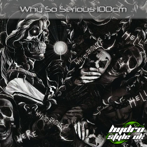 Why So Serious hydrographics film