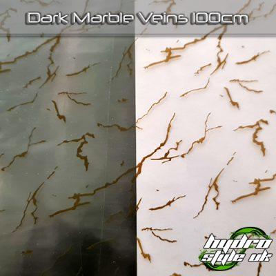 Dark Marble Veins Hydrographics Films