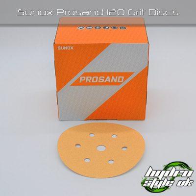 Sunox Prosand 120 Grit Discs